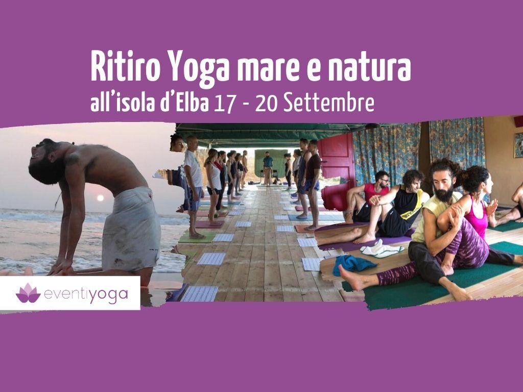 Ritiro Yoga all'Isola d'Elba