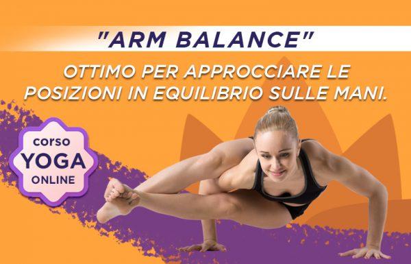 Corso Yoga Online ARM BALANCE