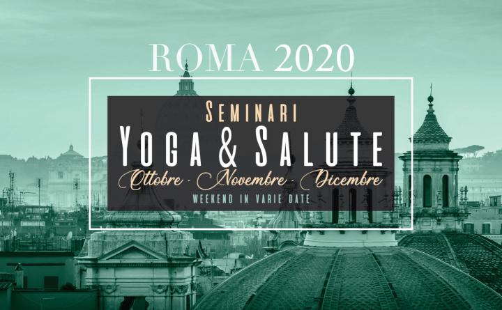 Eventi yoga ottobre Roma