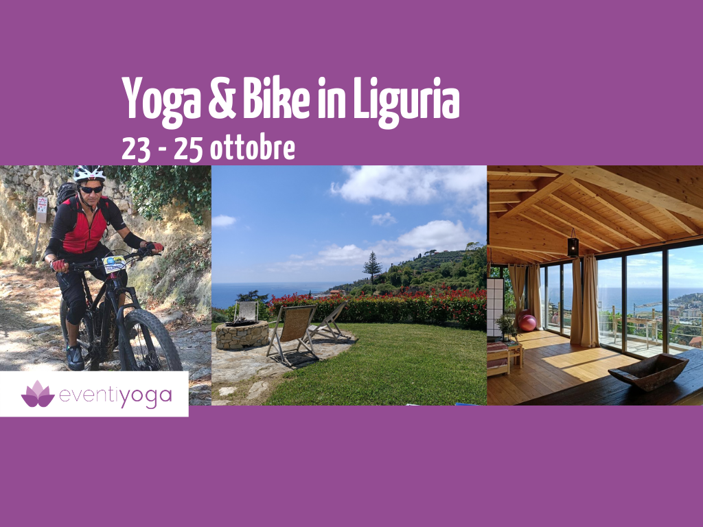 Yoga e Bike in Liguria