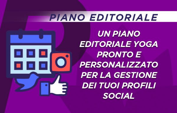 PIANO EDITORIALE Yoga