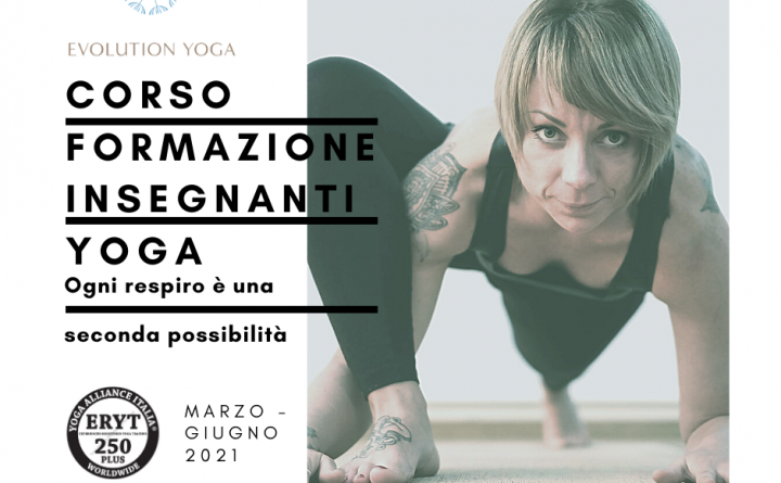 Formazione insegnanti Evolution Yoga 250 ore