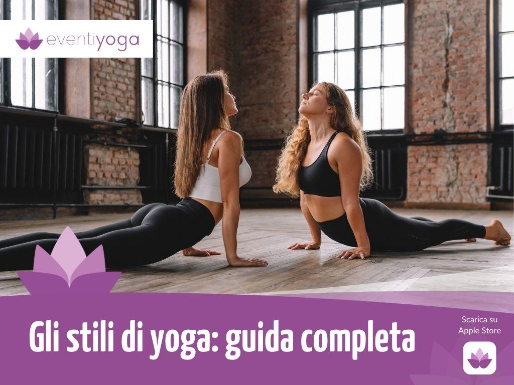 stili di yoga
