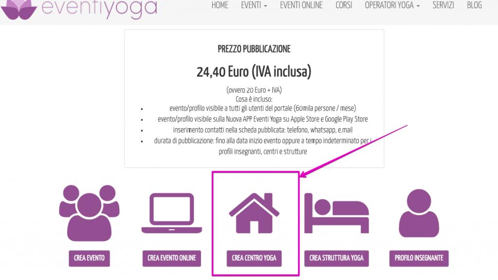 Come Pubblicare Centro Yoga