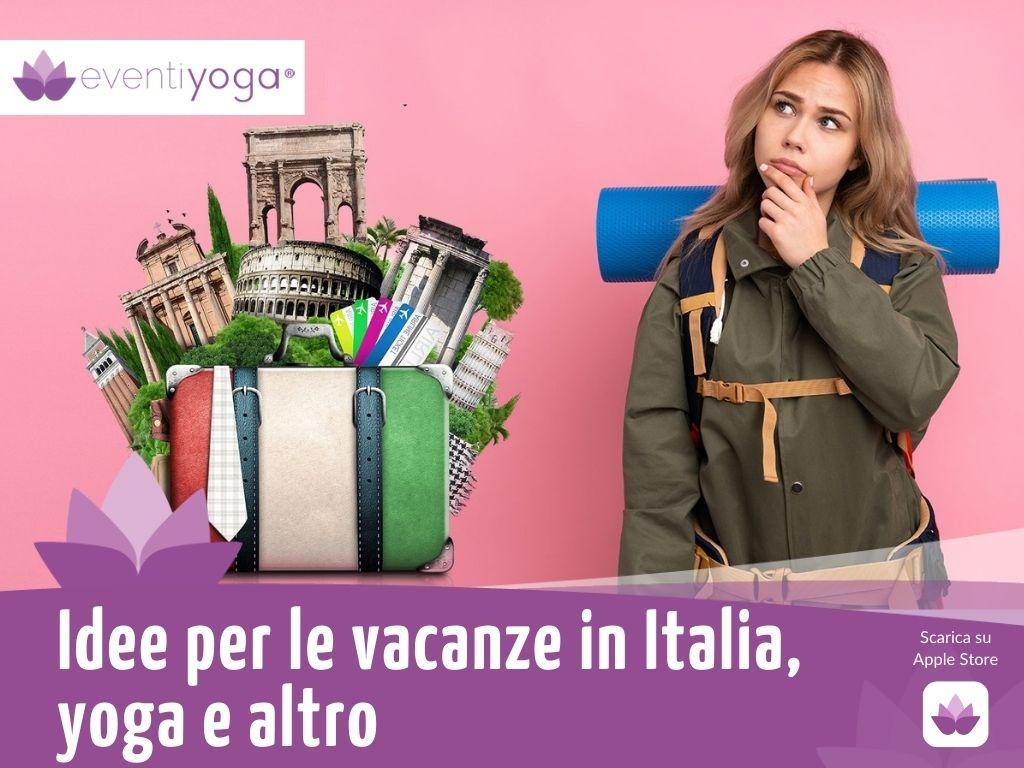 vacanze in Italia yoga