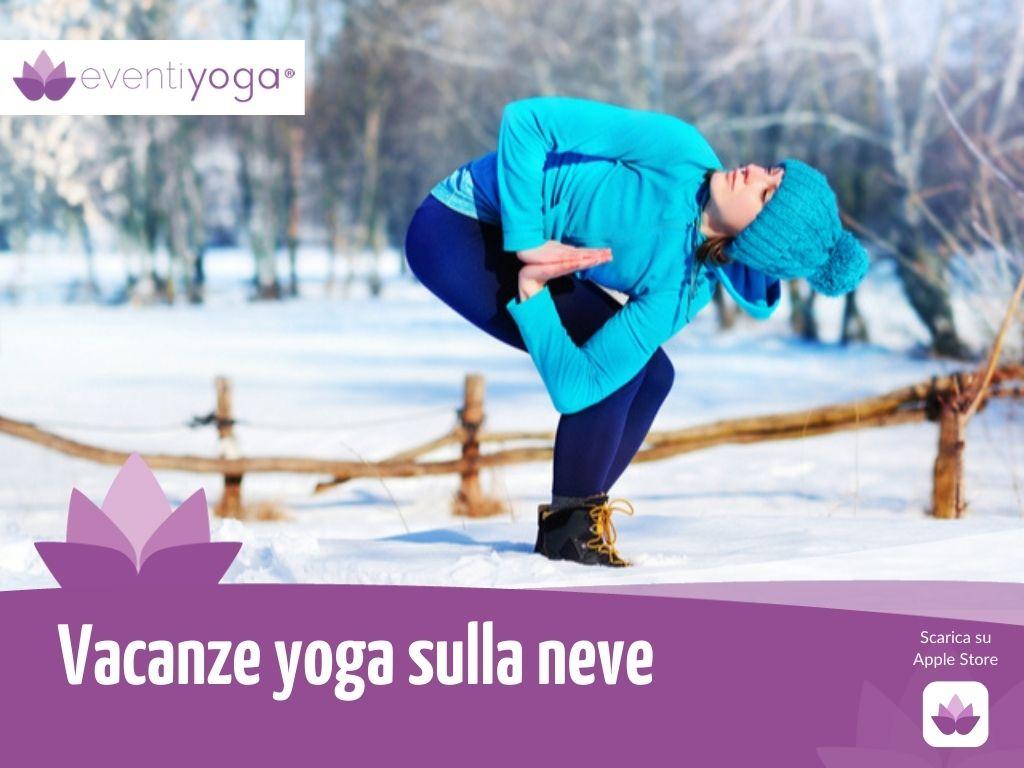 vacanze yoga sulla neve