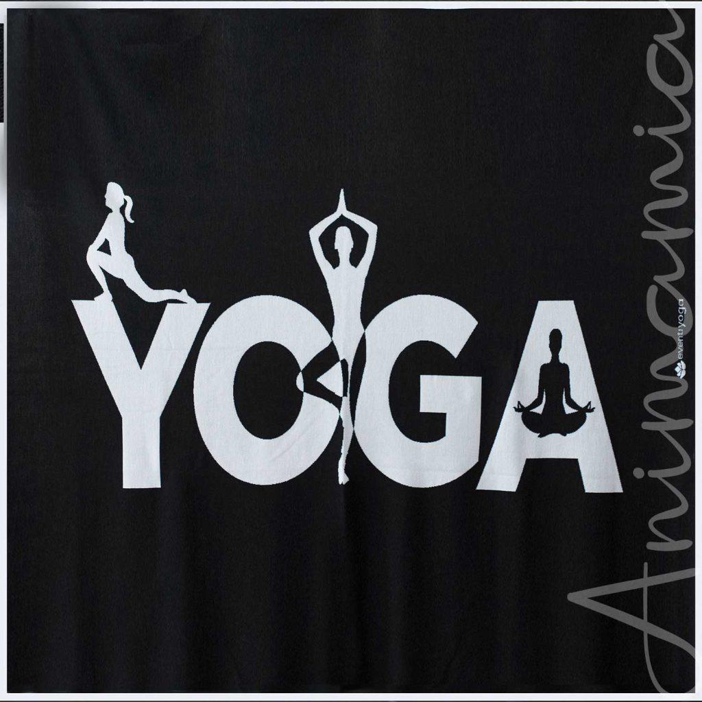 Plaid Yoga in lana merino 100%. Personalizzabile. YOGA