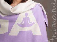 Scialle Yoga e Meditazione in Cashmere