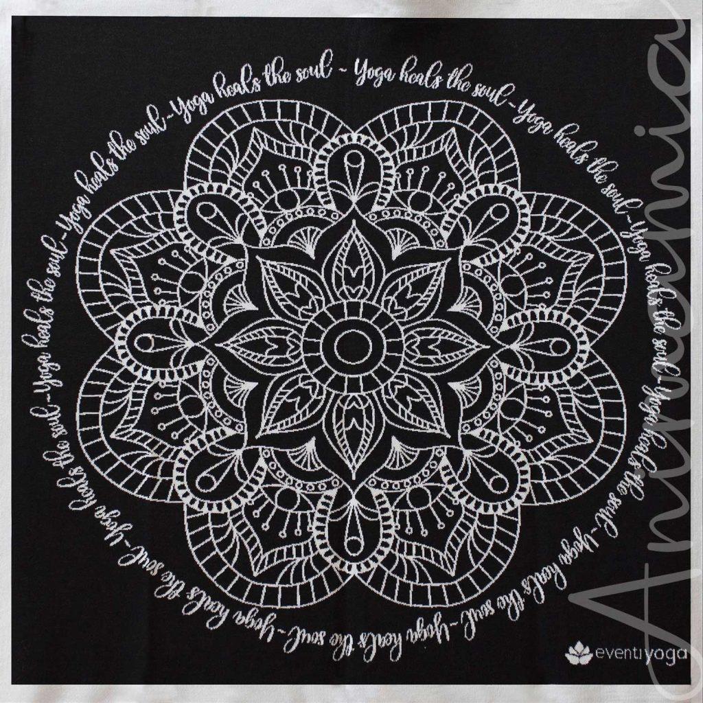 Scialle Meditazione in Lana Merino 100%. ARMONIA. Personalizzabile