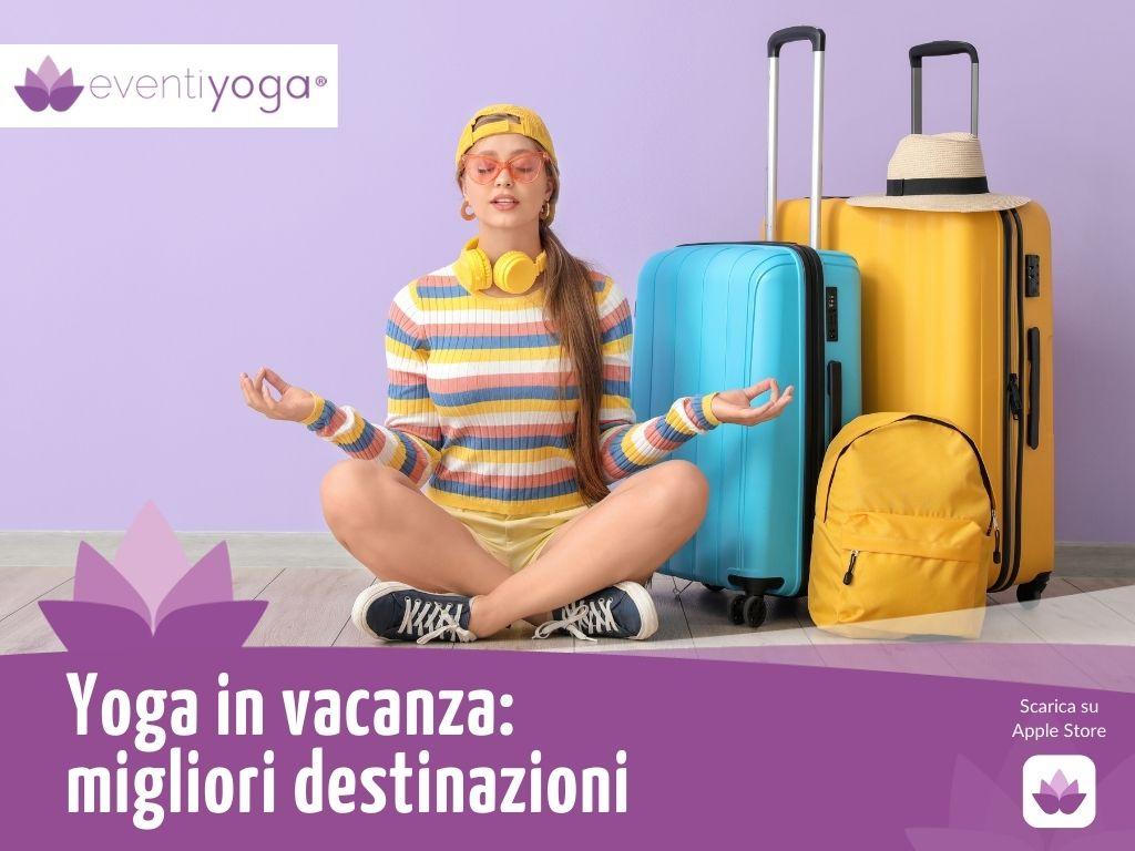 yoga in vacanza