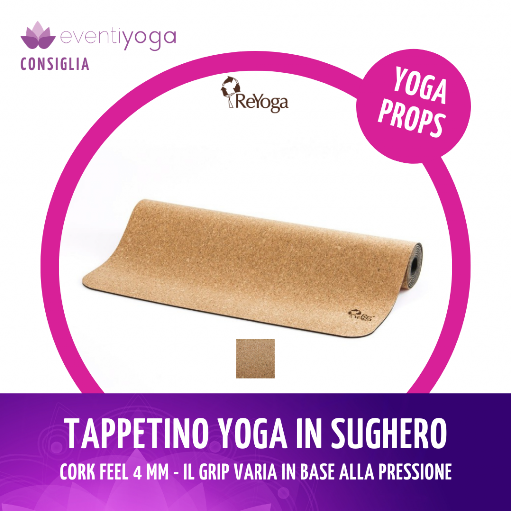 Tappetino Yoga Cork Feel