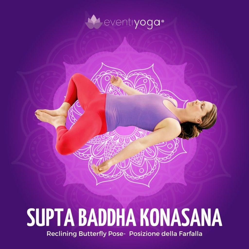 Supta Badha Konasana