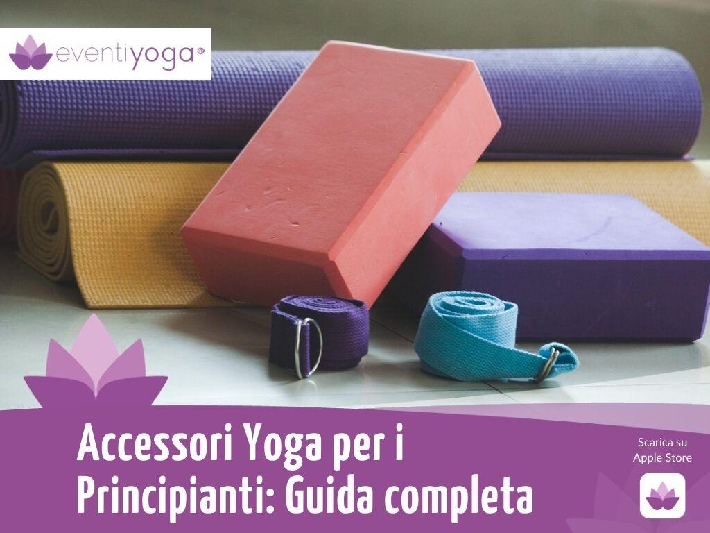 Accessori yoga per i principianti