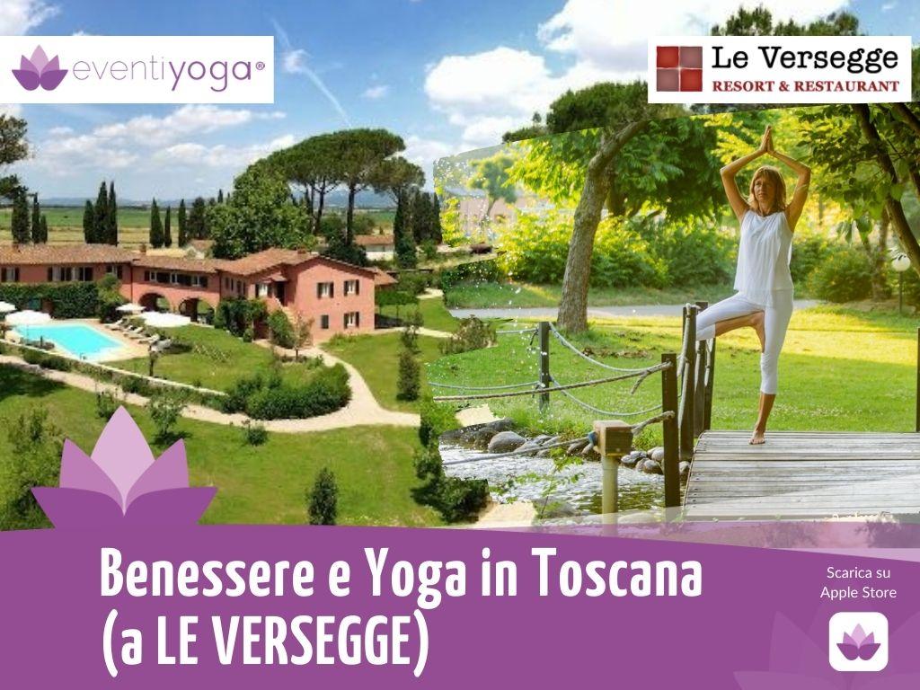 Weekend yoga in Toscana