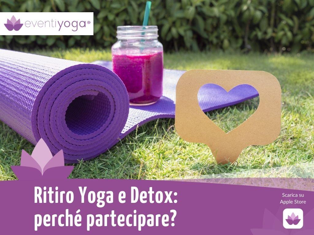 ritiro yoga e detox