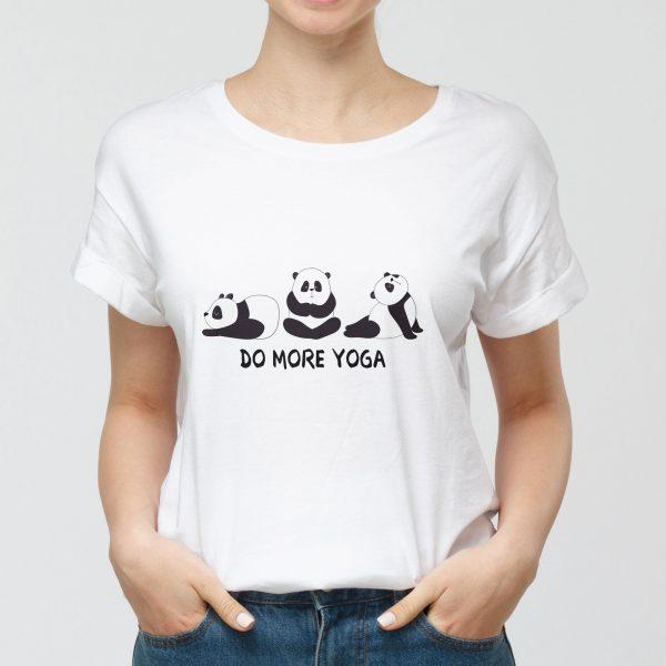 T-shirt Donna Do More Yoga