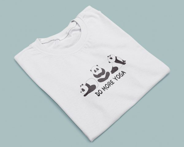 T-shirt Do More Yoga