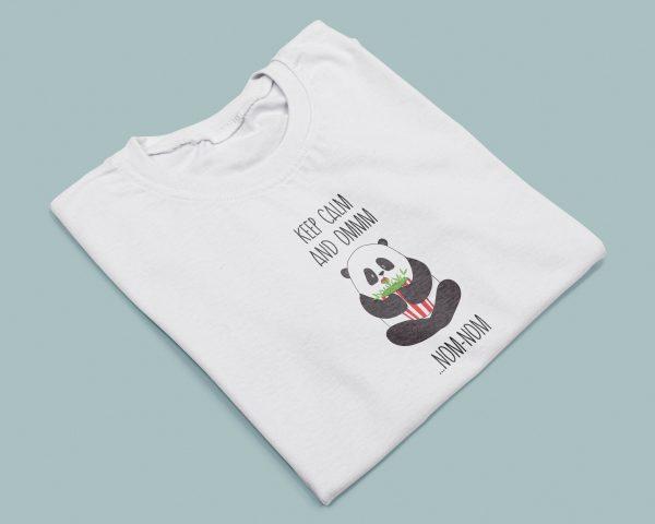 T-shirt Yoga Donna Keep Calm & Om