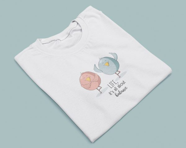 T-shirt Donna Life is about Balance