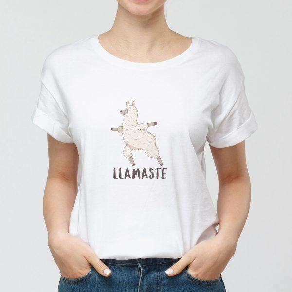 T-shirt Donna Llamaste