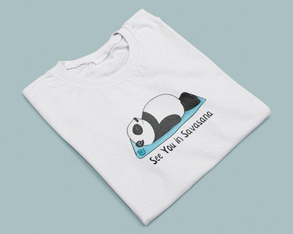 T-shirt Donna See You in Savasana-