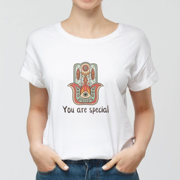 T-shirt Donna You Are Special
