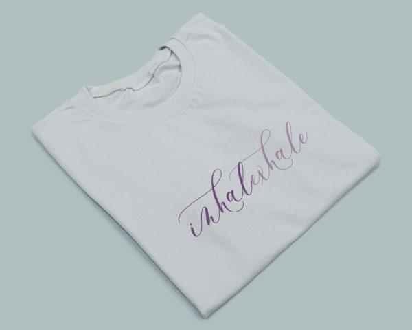 T-shirt Inhale Exhale