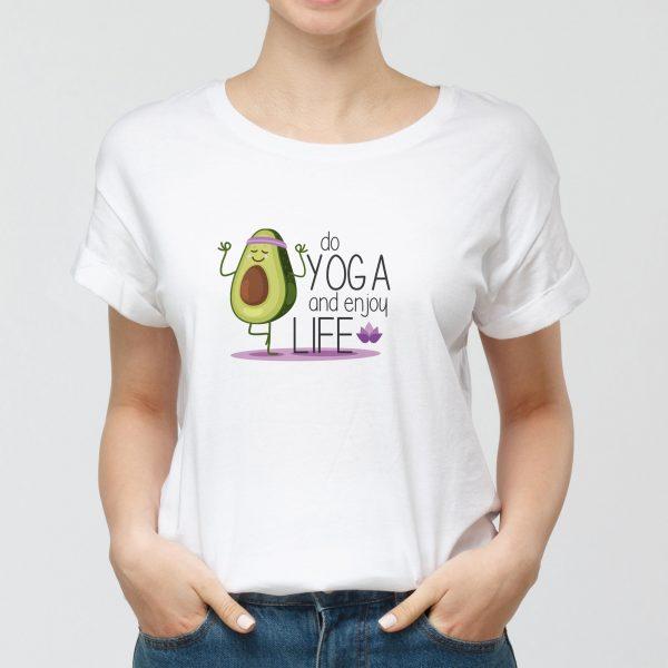 Tshirt Do Yoga Enjoy Life