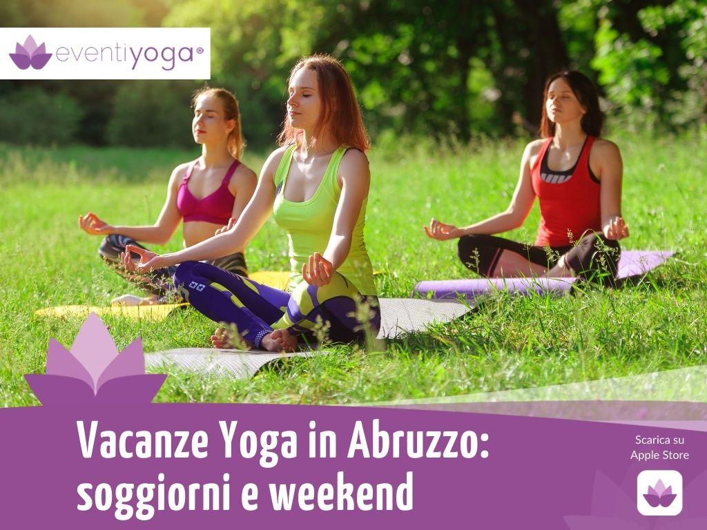 vacanze yoga abruzzo