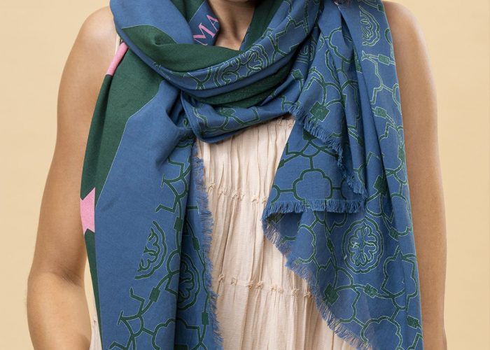 SCIALLE LOVE AND SERVE - BLUE GREEN