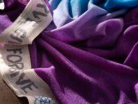 SCIALLE LOVE SERVE GIVE FORGIVE - blue, purple, white