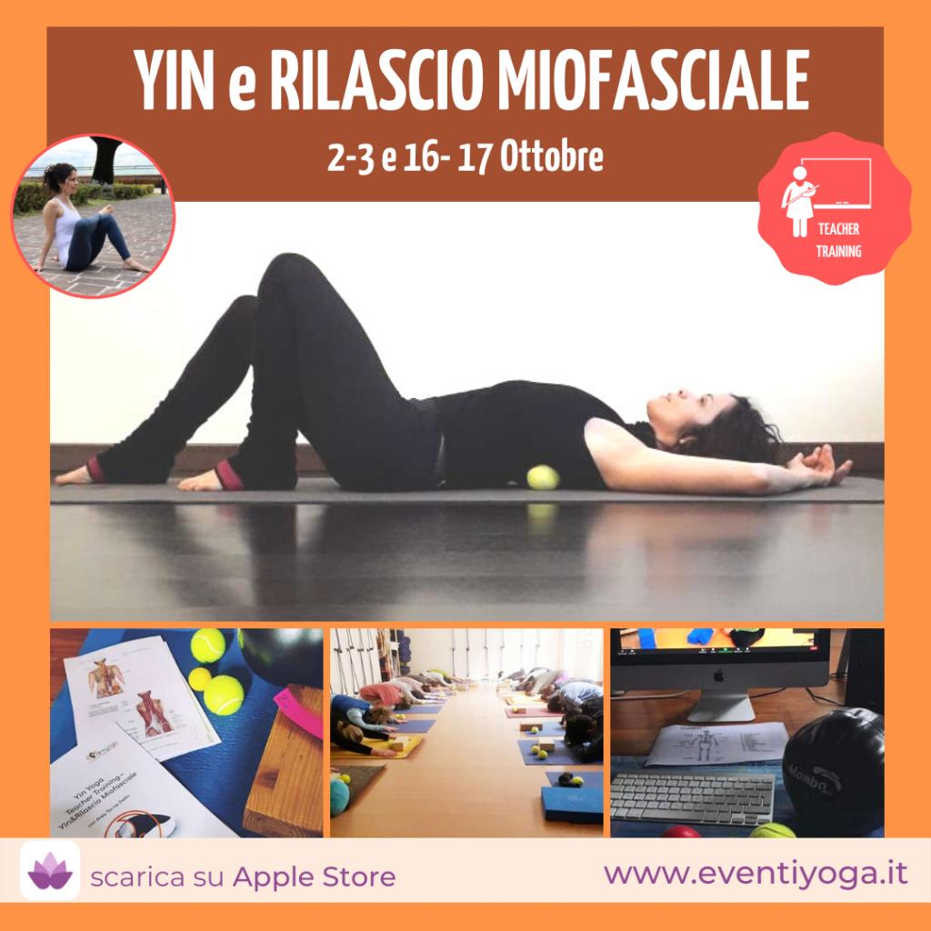 Yin Yoga per formazione insegnanti yoga