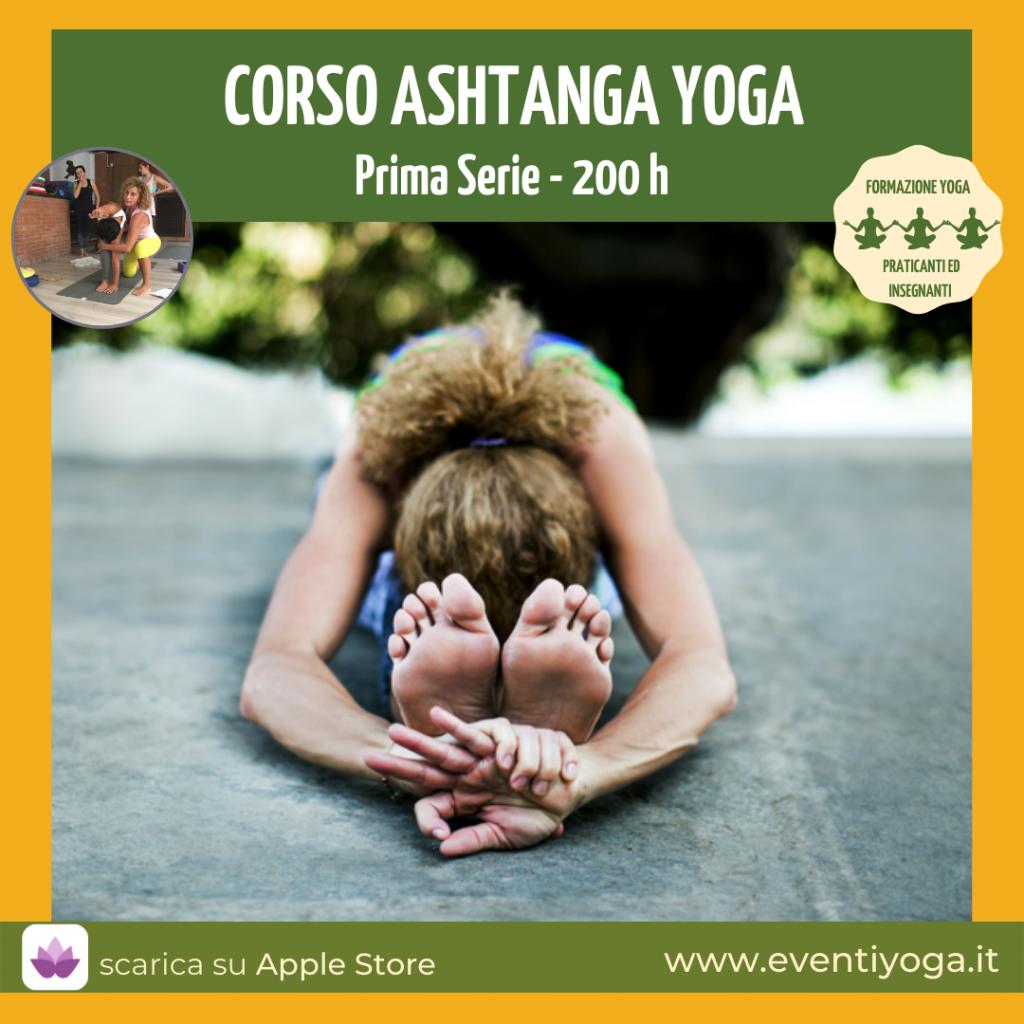 Corso 200 ore Ashtanga Yoga Prima Serie