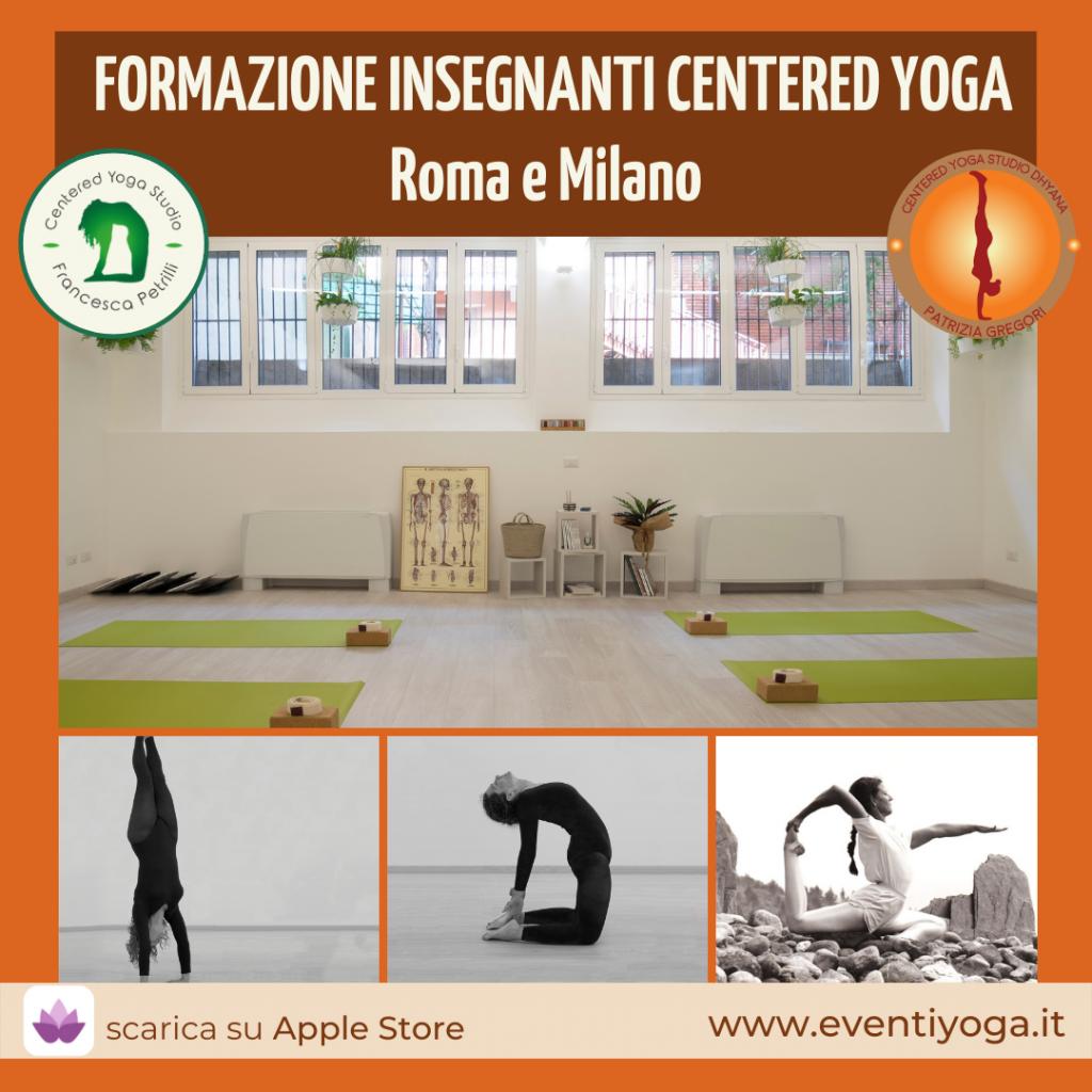 Formazione yoga insegnanti in Centered yoga