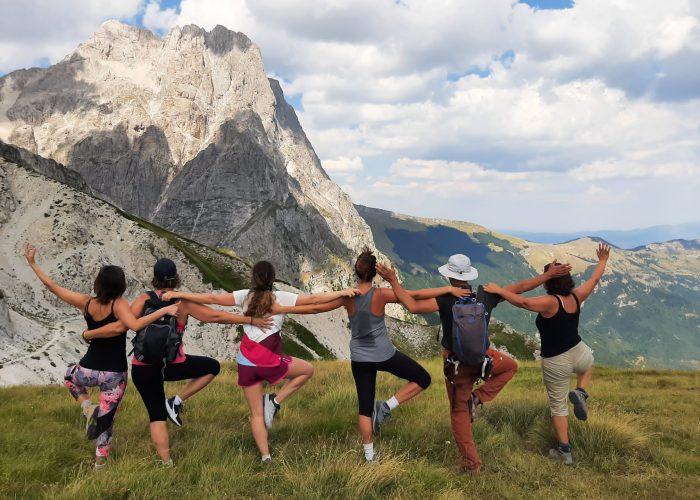 Vinyasa Yoga e Meditazione Zazen nelle Montagne d'Abruzzo