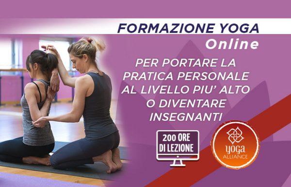 Formazione Yoga Online