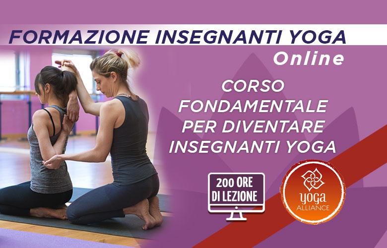 Formazione Insegnanti Yoga Online