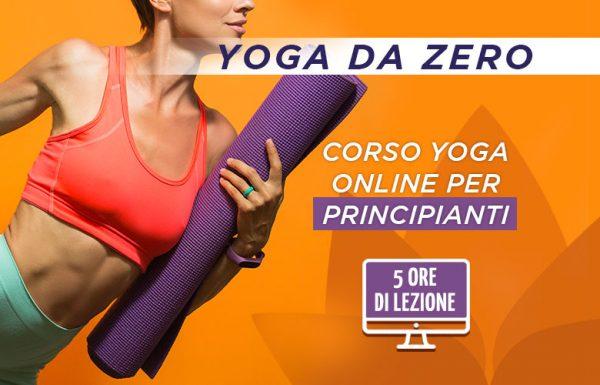 """Corso Yoga per Principianti """"Lo Yoga da Zero"""""""