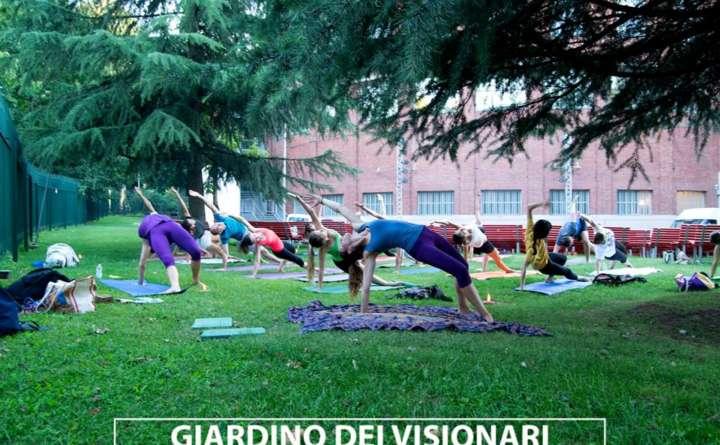 yoga class giardino della triennale eventi yoga